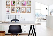 Trabajo en casa / Work spaces / by La Factoria Plastica