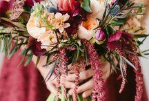Marsala, Peachy Pinks and Orange Wedding Inspiration
