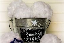Winter / All things Winter Related. Winter Crafts, Winter DIY, Winter Decor, Snowman Crafts, Snowman Decor, Snowman Treats, Winter Recipes, Winter Drinks, Winter Activities, and Tips to Survive Winter / by Karen Puleski
