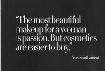 Cosmetics are easier to buy  / by Paola Capellán