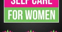 Self Care for Women / Take care of your body, mind, and soul with these great self care tips. Many of them involve natural health remedies and a holistic approach to wellness.   www.bepreparedperiod.com