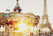JE T'AIME, PARIS. / by Yelena Bosovik