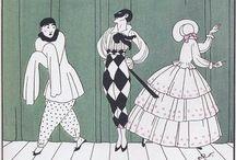 1920's illustrators - color and elegance
