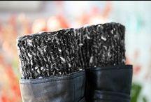 Boot cuffs, soks