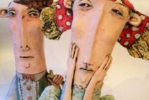 Bykerlass Paper Mâché Sculptures & Arty fings / Our designer Bykerlass loves paper mâché sculpture but doesn't get the time to do it v often. One day....