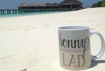Our Mugs ALL OVER THE WORLD / Our mugs have been photographed all over the world! www.wotmalike.co.uk