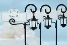 Table Seating: Place Cards & Escort Cards / Check out this board for creative and unique ways to display place cards.