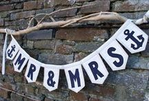 Nautical Weddings! / Decorations, invitations and more with unique inspirations for beach, destination and nautical themed ceremonies!