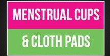 Menstrual Cups & Cloth Pads / Reusable period product info on menstrual cups and cloth pads. Go green, help the earth, and your body with reusable, nontoxic options.   www.bepreparedperiod.com