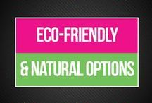 Eco-Friendly & Natural Periods / Make decisions that are better for your body and the earth with these eco friendly, natural, green period products. Your body (and mother nature!) will thank you. We cover green, organic period products, natural cramp relief, and menstrual wellness.   www.bepreparedperiod.com