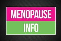 Menopause Info / Menopause is a totally natural and healthy thing. But without the proper education, it can feel scary, embarrassing, or downright frustrating. Here, we share our best tips for managing menopause symptoms, alleviating discomfort, and increasing your wellness.   www.bepreparedperiod.com