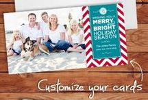 Holiday Cards / Tis the Season.... for ordering your holiday cards! Choose the perfect greetings for family, clients, employees and more. Customize one of our holiday cards, choose the perfect Metallic, Grocery Bag or Foil Lined Envelope then add Variable Addressing (who has time to address all those cards??) With SO many options you'll be sure to send the perfect season's greetings this year!