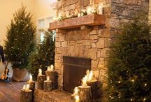 Christmas in the Log Home / by Lisa Bastien