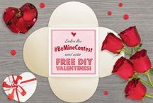 """#BeMine - DIY Valentine Contest! / Nothing says """"Be Mine"""" like a homemade valentine! Show us your Valentine inspiration to enter to win FREE DIY Valentine Supplies! Create a PIN and use the #BeMineContest"""