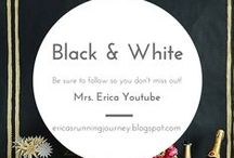 Black and White Theme Party Ideas / I love to entertain and I can not wait to throw a Black and White Dinner Party.