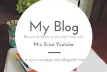 Mrs. Erica's Blog Posting / I love to share items on my blog. Follow so you never miss out on new ideas and postings!