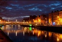 Dublin at night / Get to see Dublin's lights at their best.