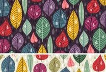 Surface Pattern Design / Inspiration for my adventures at Jessica Swift's Pattern Camp
