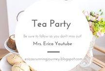 Tea Time Party Ideas