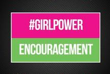 #GirlPower Encouragement / Sometimes you just need a reminder of how awesome you are. Let these words serve as your inspiration to go out and be the best you can be! All the #girlpower vibes.   www.bepreparedperiod.com