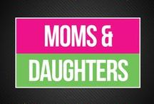 Moms and Daughters / We help moms and daughters find healthy ways to communicate on the topics of first periods, menstruation, puberty, and wellness. Check out our library of free resources to help you navigate this time with honesty and compassion.   www.bepreparedperiod.com