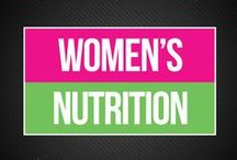 Women's Nutrition / We're all about women and girls living the healthiest lives possible, and nutrition is key to this. Here, we share our favorite intuitive eating and whole food tips and tricks.   www.bepreparedperiod.com