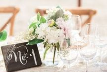 Table Name and Number Ideas / Chic, creative and crafty table number and name ideas...