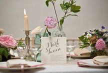 Wedding Tablescapes / Beautiful tables to inspire your own wedding reception decor