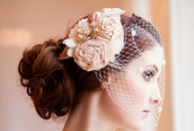 Birdcage Veils / by One Fab Day - Wedding Blog