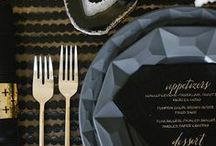 Wedding Placesettings / Gorgeous placesetting ideas for greeting your guests with style