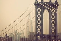 My favorite cities / Mis ciudades favoritas me sacan un par de lagrimas llenas de recuerdos y sueños por cumplir en un camino de arboles y señores con el ceño fruncido. París y Nueva York...