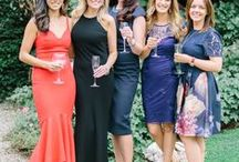 Wedding Guest Style / Beautiful long gowns in a variety of colours. Perfect for a bride who wants something different, a fashionista bridesmaid or wedding guest, or just cos you have a fancy do to go to...