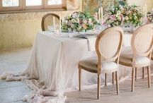 Reception Decor / Gorgeous wedding reception decor ideas. From glam to rustic and vintage to boho...