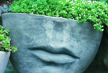 How does your garden grow...pots, small or tiny? / by Carole D. Arterbery ~ Professional Organizer