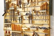 Wood Shop Ideas / Out In the Shop / by Alan Hines