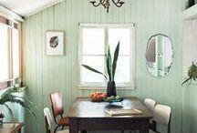 walls: wallpaper, tile & color / design and fun ideas