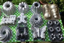 My Nordic Ware Bundt Tin Collection / Bundt tins pans nordic ware baking cakes