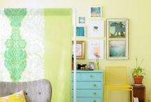 Yellow and Turquoise / All things yellow and turquoise, especially home decor. / by Heather Neal