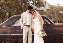 Rustic Weddings / Rustic weddings have seen a recent surge in popularity, and with good reason: the melange of old and new, rough and polished, create a juxtaposition that is nothing short of spectacular. We're loving the wedding dresses, engagement rings, venues, and decorations that rusitc weddings have to offer.  / by James Allen Rings