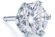 Diamond Stud Earrings - Perfectly Matched / Diamond stud earrings are a great addition to any woman's jewelry collection. Perfect for a romantic evening out, terrific for work, and essential for formal gatherings.  Princess cut diamnonds are great for a woman with a broad face while round diamonds go well with narrower features. Color and clarity requirements are more relaxed for diamond stud earrings when compared to diamonds set in engagement rings. This is because the distance that they are viewed is greater.  / by James Allen Rings