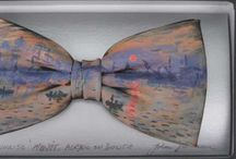 ART - Bow ties / Hand painted Bow ties after we'll know masterpieces. Painted by Irish artist John Kirwan.