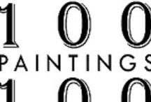 100 Paintings 100 Days / Museum quality art starting at $48.  Seriously.  Paintings and hand signed limited edition prints by Arielle Sandler.  http://www.100Paintings100Days.com
