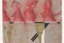Imagen Color trazo / Ilustraciones, pintura, color, ausencia, lienzo, trazo, gesto, línea, dibujo, sabor.