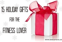 Fitness Lover's Gift Guide / A holiday gift guide for the #health and #fitness lover on your list. / by EveryMove