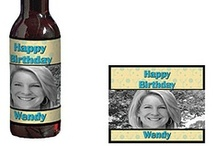 Birthday Beer Bottle Labels / With Shindigz, you can personalize your beer labels for your next birthday party, / by Shindigz