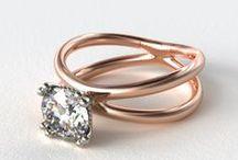 Split Shank Engagement Rings / by James Allen Rings