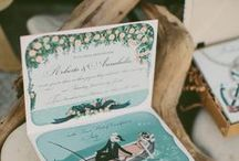 Love letters / Wedding stationary designed / by Dino Saw