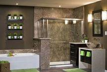 Re-Bath® Vignettes / Images of Re-Bath® vignettes with Re-Bath® products