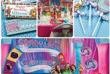 Candy Party Ideas / Shindigz has dozens of ideas to create your very own Candy Party including our exclusive Candy Land collection!  / by Shindigz