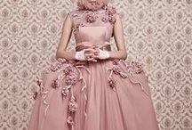 Fashion Fairytales / Editorials, fantastic costuming . . . something more magical than just the dress.
